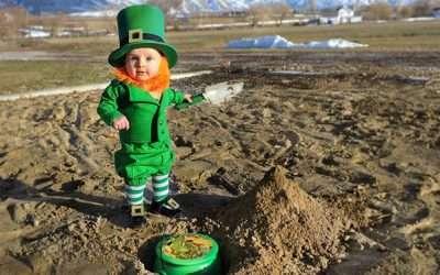 Irischer Kobold Kostüm selber machen
