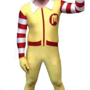Ronald McDonald Kostüm selber machen | Kostüm Idee zu Karneval, Halloween & Fasching