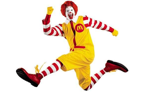 Ronald McDonald Kostüm selber machen