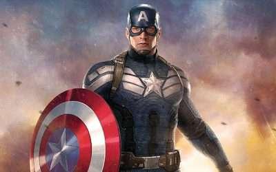 Captain America Kostüm selber machen