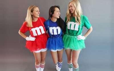 M&M Kostüm selber machen