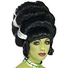 Frankensteins Braut Kostüm selber machen zu Karneval, Halloween & Fasching | Perücke