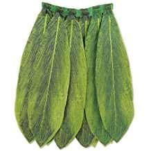Kostüm selber machen - Blätter Hula Rock
