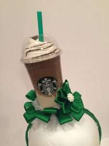 Starbucks Kostüm selber machen - Haarreif