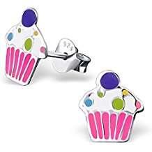 Cupcake Kostüm selber machen - Ohrringe