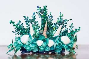 Meerjungfrau Kostüm selber machen - Krone