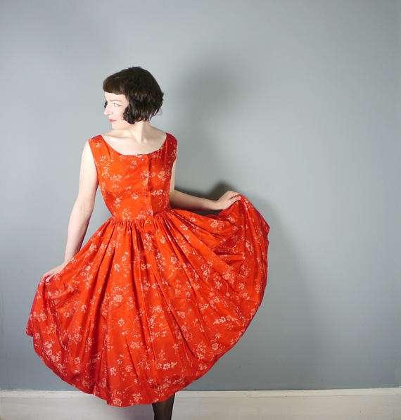 50er Jahre Kostüm selber machen - Kleid