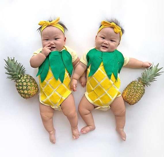 Ananas Kostüm selber machen - Etsy