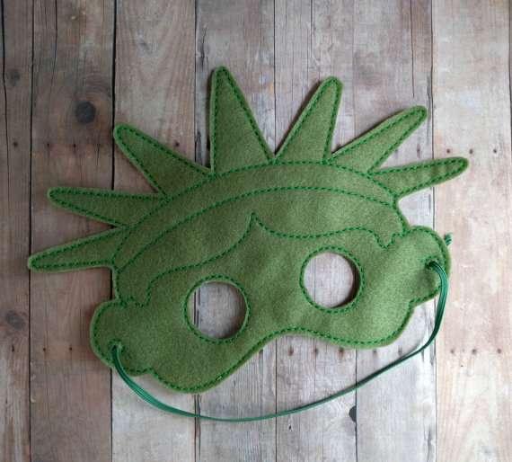 Freiheitsstatue Kostüm selber machen - Maske