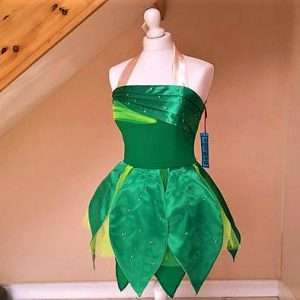 tinkerbell kostum selber machen kleid