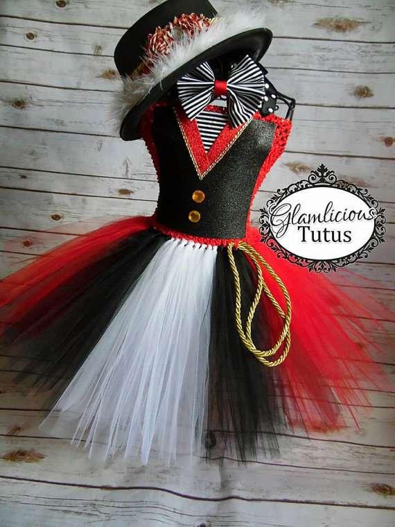 Zirkusdirektor-Kostüm selber machen - Tutu-Kleid
