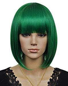 Kostüm selber machen - Grüne Perücke