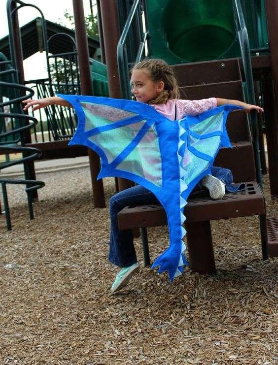 Etsy - Drachen Kostüm für Kinder Baby selber machen