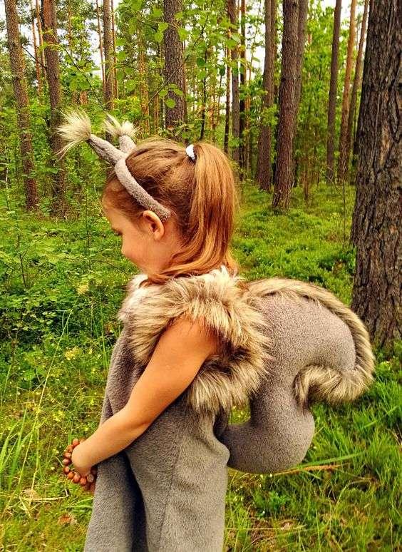 Etsy - Eichhörnchen-Kostüm selber machen