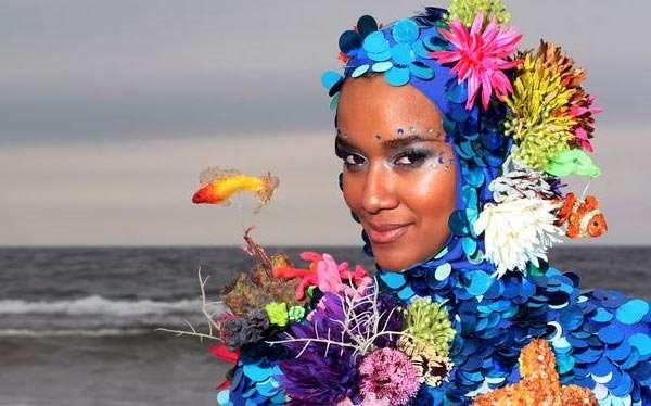 Korallenriff Kostüm selber machen