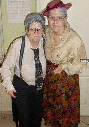 maskerix - Altes Paar Oma und Opa Kostüm selber machen