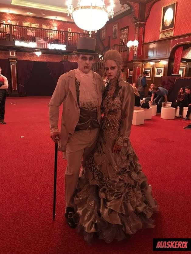 maskerix Gothic Zombie Kostüm selber machen