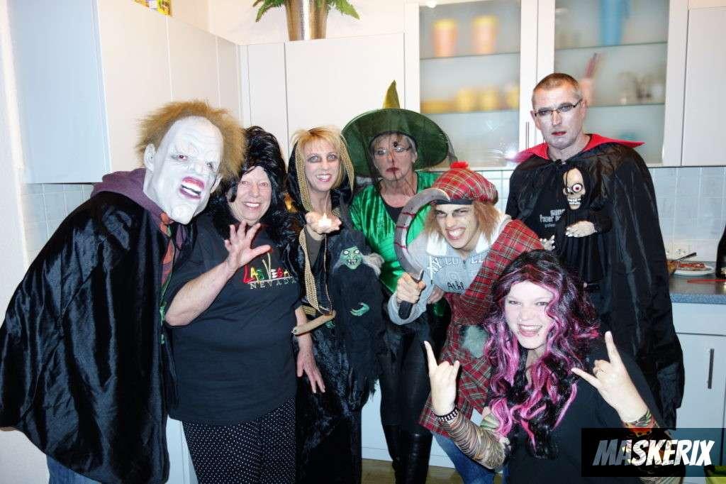 maskerix - Kostüm selber machen - Halloween Gruppenkostüm
