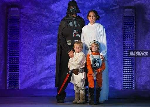 Kostüme für Familien selber machen
