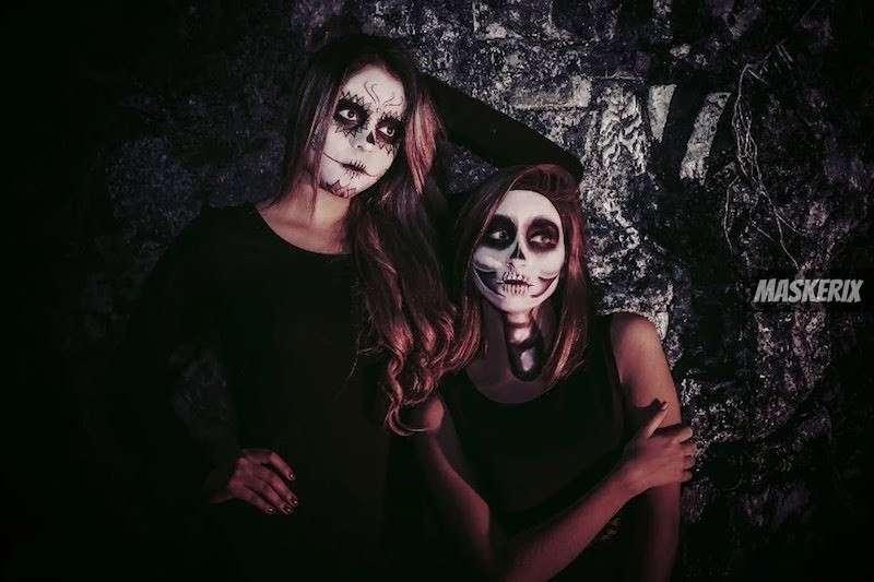 maskerix - Skelett Halloween Kostüm selber machen
