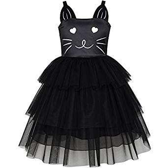 Kostüm selber machen - Katzen-Kleid