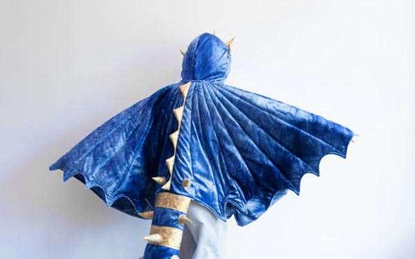 Drache Kostüm selber machen