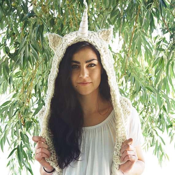 Etsy - Einhorn Kostüm selber machen - Mütze