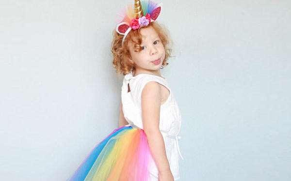Etsy - Kinder Einhorn Kostüm selber machen