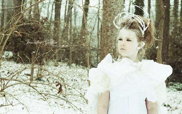 Eiskönigin Kostüm selber machen