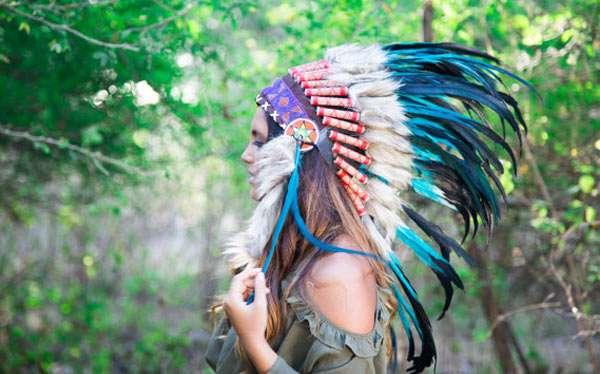 Indianerin Kostüm selber machen