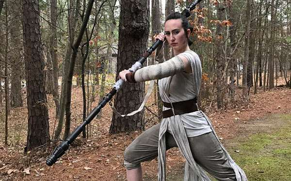 Star Wars Rey Kostüm selber machen