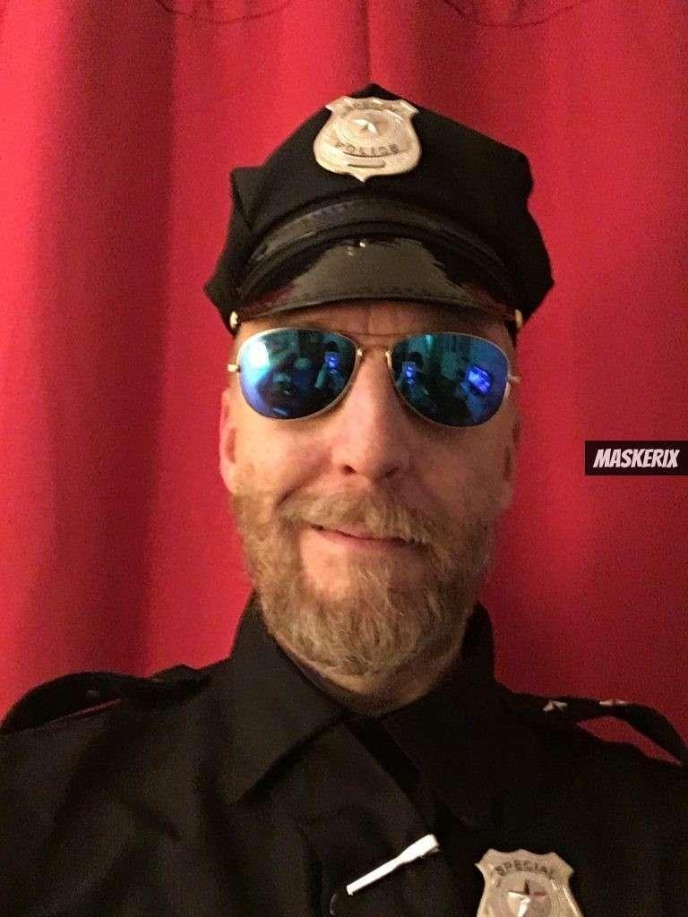 maskerix - Foto Contest Karneval 2018 - Cop Kostüm selber machen