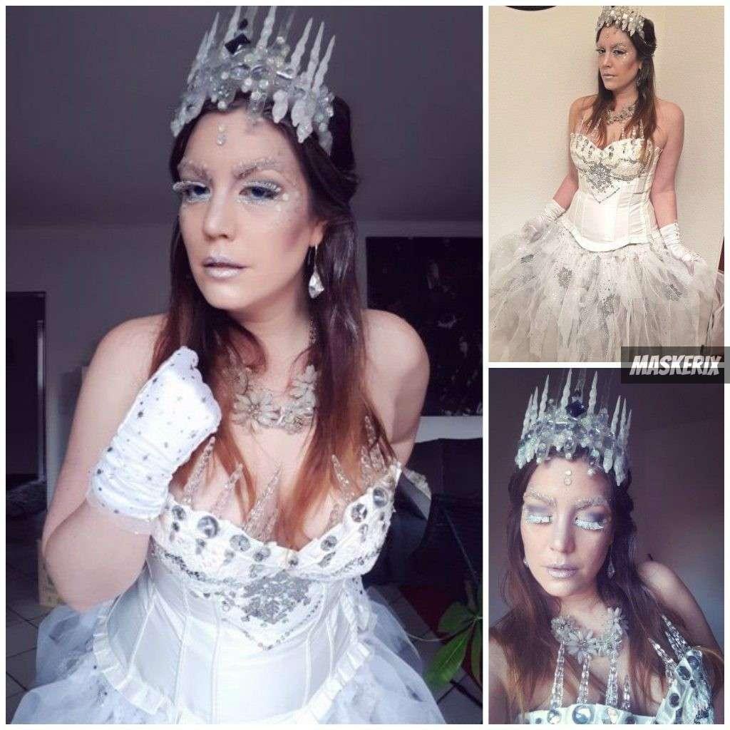 maskerix - Foto Contest Karneval 2018 - Eiskönigin Kostüm selber machen