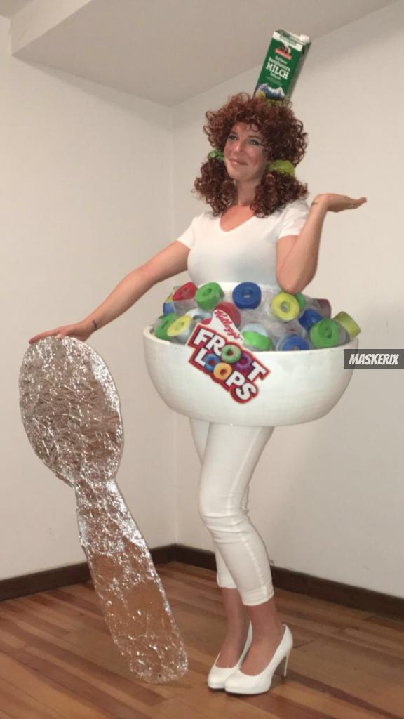 maskerix - Foto Contest Karneval 2018 - Froot Loop Kostüm selber machen
