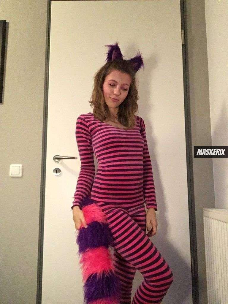 maskerix - Foto Contest Karneval 2018 - Grinsekatze Kostüm selber machen