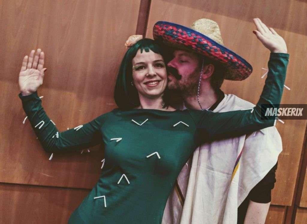 maskerix - Foto Contest Karneval 2018 - Kaktus und Mexikaner Kostüm selber machen