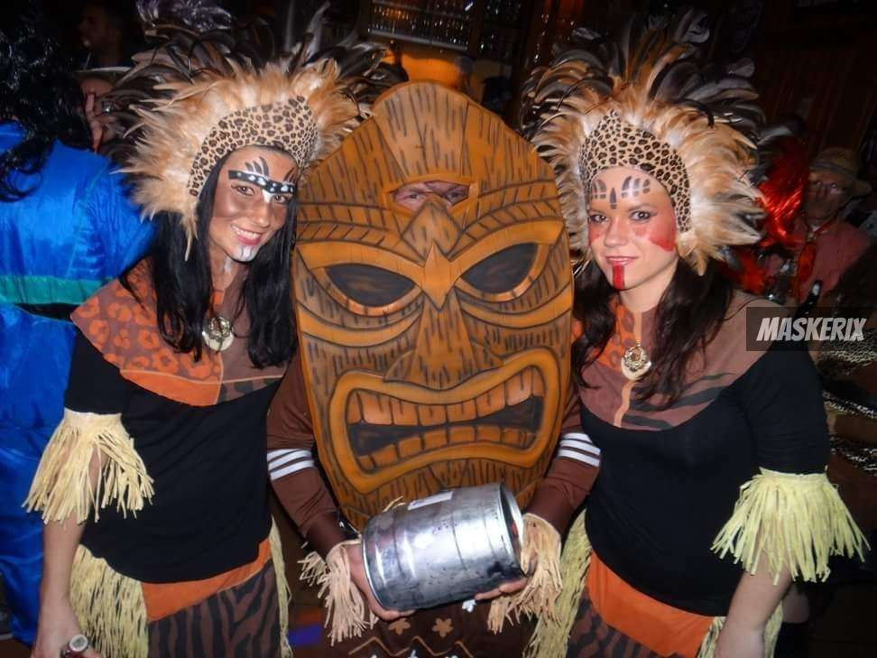 maskerix - Foto Contest Karneval 2018 - Wilde Azteken Kostüm selber machen