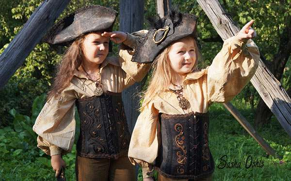 Piratin Kostüm selber machen