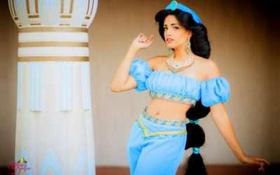 Prinzessin Jasmin Kostüm selber machen