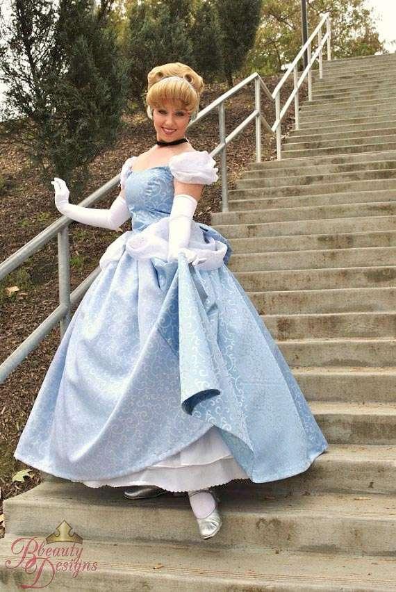 Etsy - Cinderella Kostüm selber machen