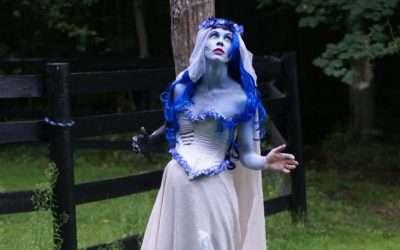 Emily Corpse Bride Kostüm selber machen