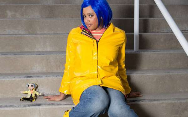 Etsy - DIY Coraline Halloween Costume Idea