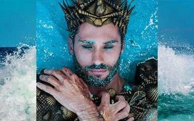 Neptun Kostüm selber machen