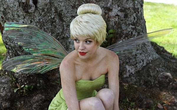 Peter Pan Tinkerbell Kostüm selber machen