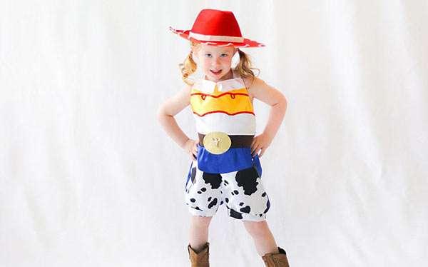 Toy Story Jessie Kostüm selber machen