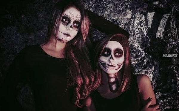 Skelett Kostüm selber machen