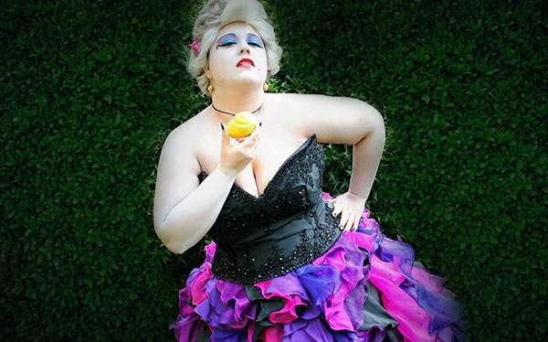 Arielle's Ursula Kostüm selber machen