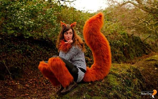 Eichhörnchen Kostüm selber machen
