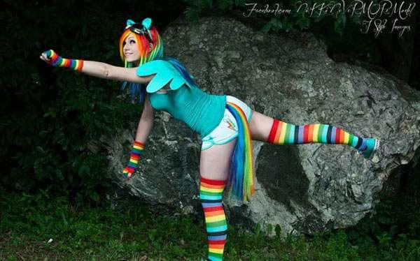 My little Pony Kostüm selber machen