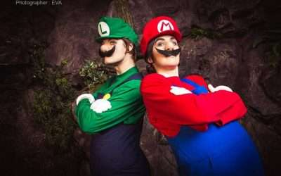 Super Mario und Luigi Kostüm selber machen